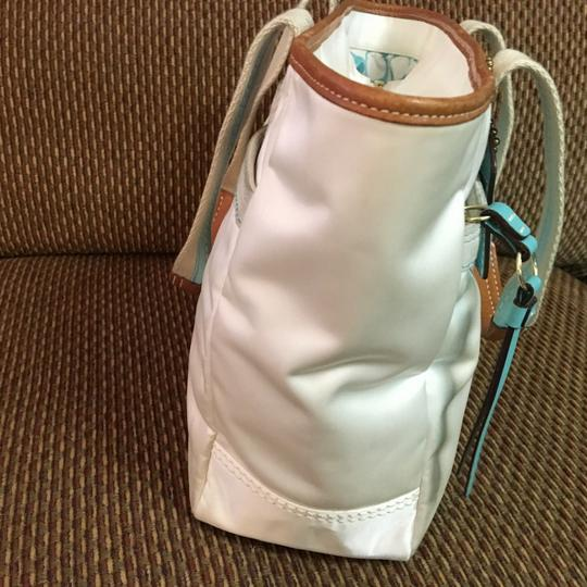 Coach Tote in White Image 11