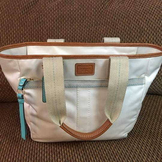 Coach Tote in White Image 9