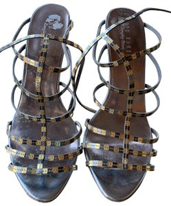 Ted Baker silver and gold Sandals