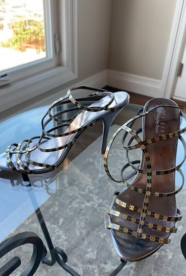 Ted Baker silver and gold Sandals Image 1