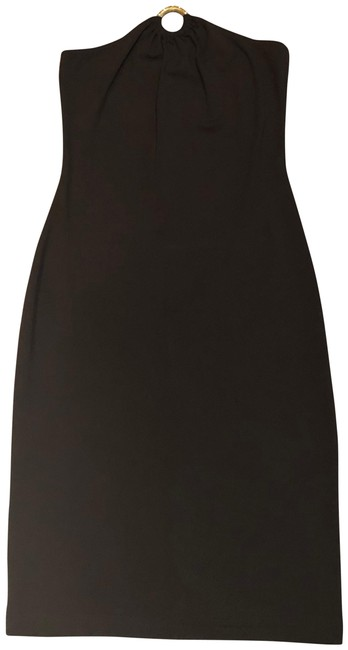 Item - Brown Mid-length Night Out Dress Size 4 (S)