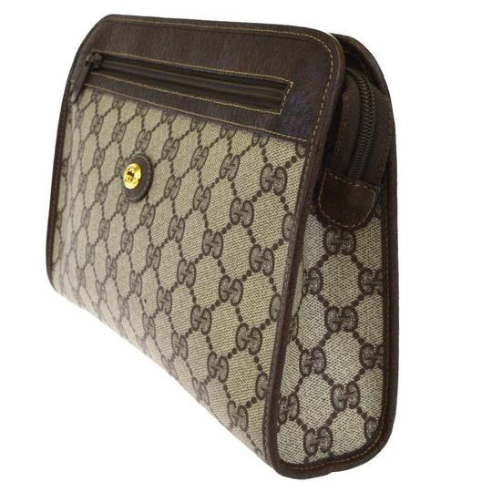 Gucci Brown Clutch Image 1