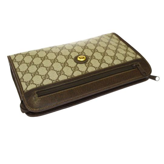 Gucci Brown Clutch Image 3