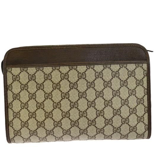 Gucci Brown Clutch Image 5