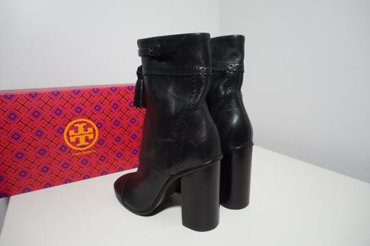 Tory Burch Leather Black Boots Image 5