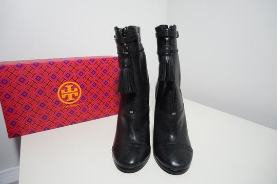 Tory Burch Leather Black Boots Image 6