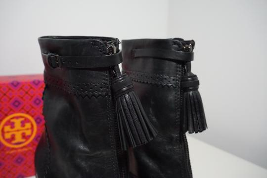 Tory Burch Leather Black Boots Image 9