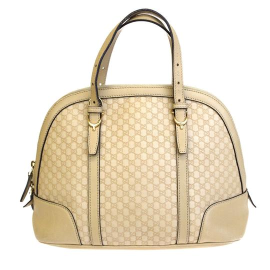 Preload https://img-static.tradesy.com/item/25914642/gucci-bag-gg-pattern-hand-gold-made-in-italy-beige-leather-tote-0-0-540-540.jpg