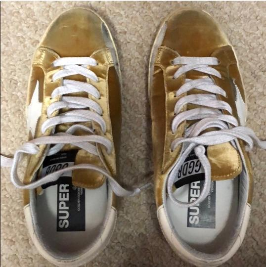Golden Goose Deluxe Brand yellow Athletic Image 1