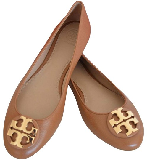 Preload https://img-static.tradesy.com/item/25914686/tory-burch-brown-claire-ballet-tumbled-leather-flats-size-us-10-regular-m-b-0-1-540-540.jpg