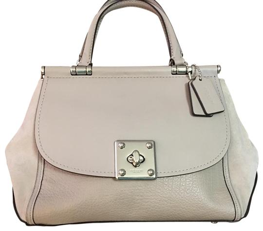 Coach Satchel in Birch Grey Image 1