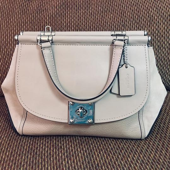 Coach Satchel in Birch Grey Image 11