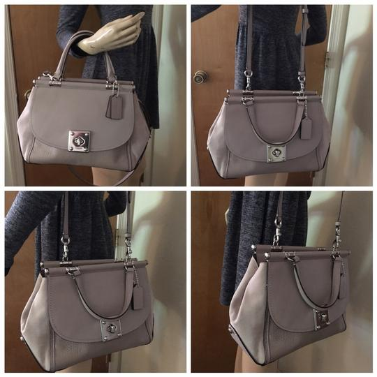 Coach Satchel in Birch Grey Image 3