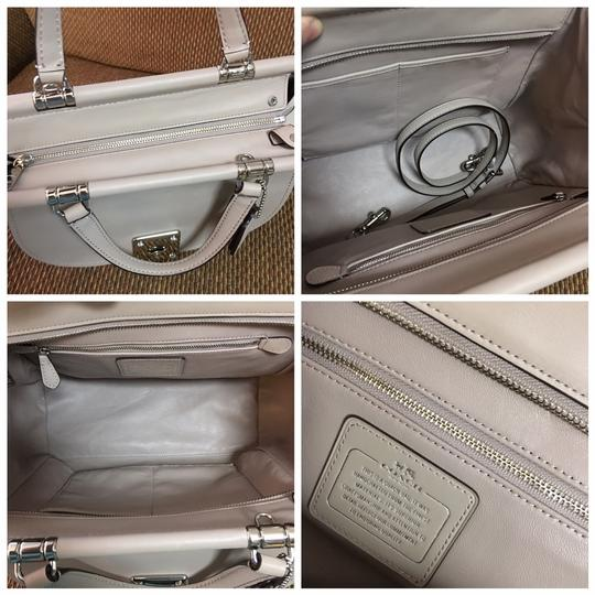 Coach Satchel in Birch Grey Image 7