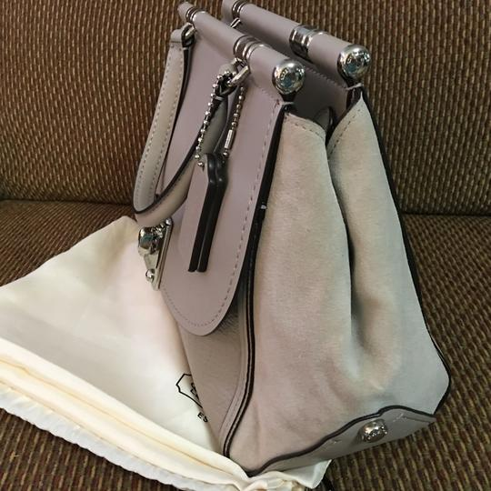 Coach Satchel in Birch Grey Image 8