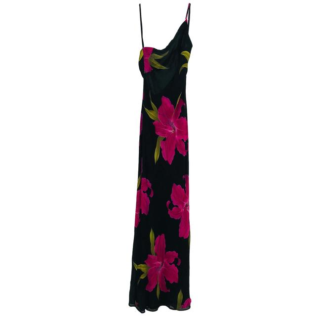 Black, Pink Maxi Dress by Cache Image 2