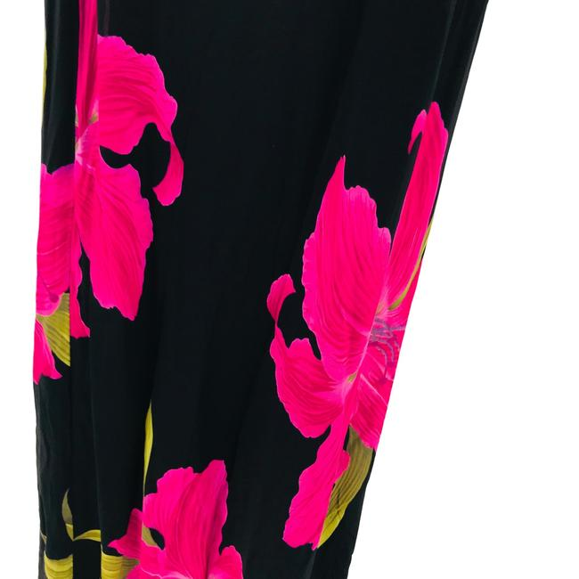 Black, Pink Maxi Dress by Cache Image 3