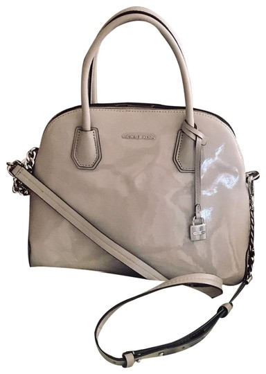 Preload https://img-static.tradesy.com/item/25914759/michael-kors-crossbody-mercer-large-dome-satchelcrossbody-cement-grey-patent-leather-satchel-0-1-540-540.jpg