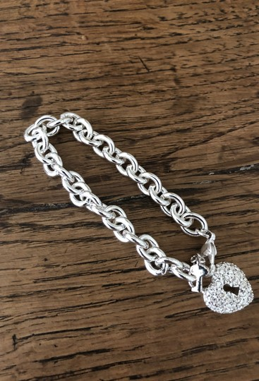 Juicy Couture Juicy Couture lock and key diamond bracelet Image 1