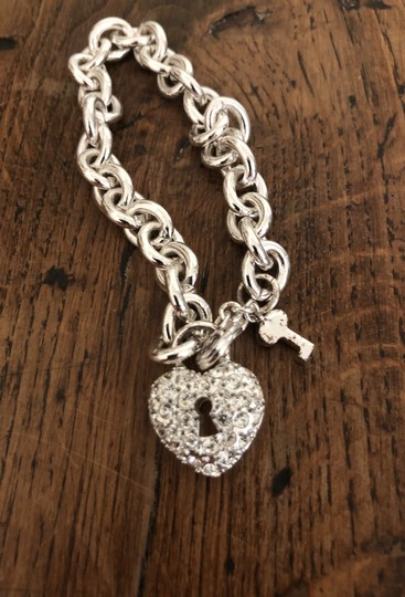 Juicy Couture Juicy Couture lock and key diamond bracelet Image 4