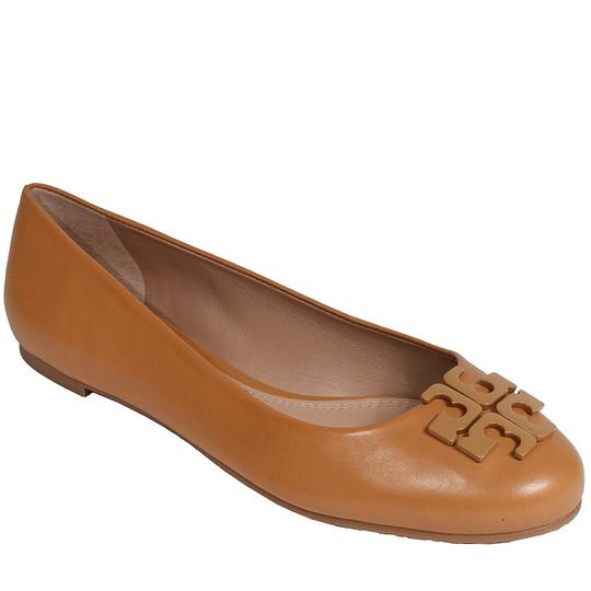 Tory Burch Brown Flats Image 3