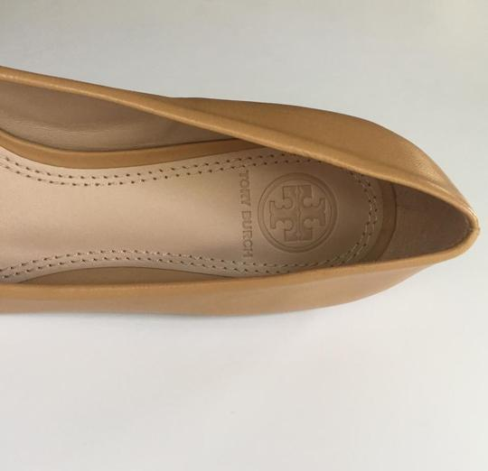 Tory Burch Brown Flats Image 6