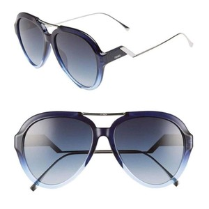 Fendi Fendi 0322GS - ZX908 Tropical Shine Aviator Gradient Sunglasses