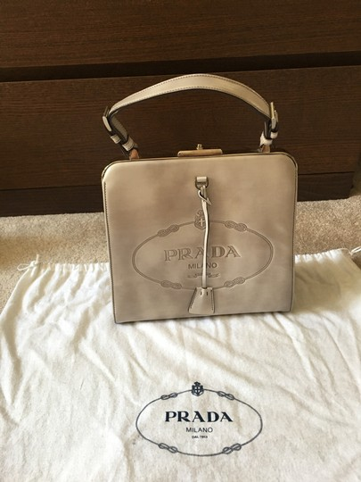 Prada Satchel in grey Image 5