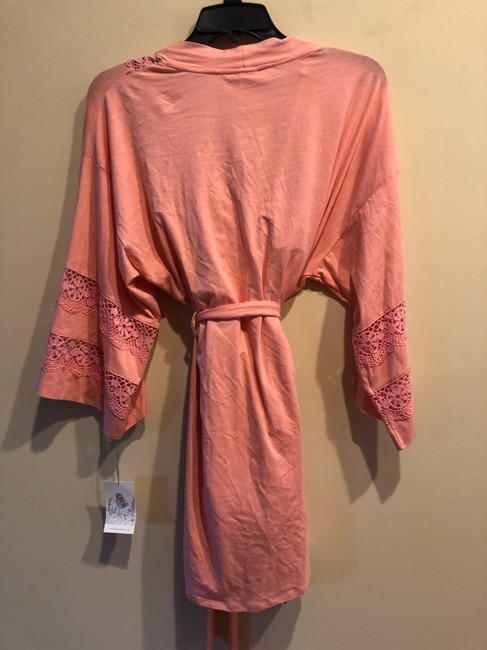 Nordstrom In Bloom by Jonquil 2 Pc Set Chemise Robe Cotton Lace small/ xsmal Image 2