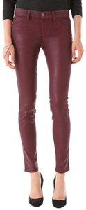 J Brand Coated Stretchy Sexy Skinny Jeans-Coated