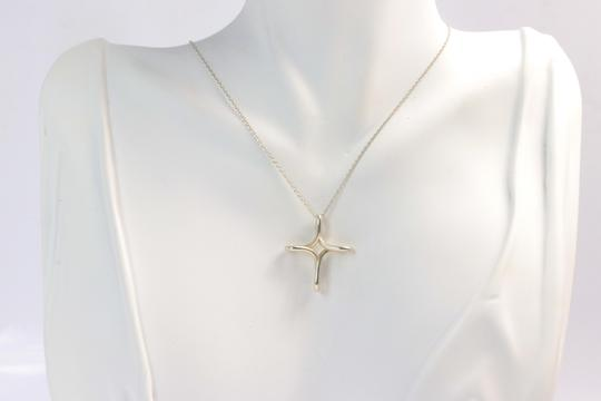 Tiffany & Co. Authentic Tiffany & Co Infinity Cross Necklace Sterling Silver Image 3