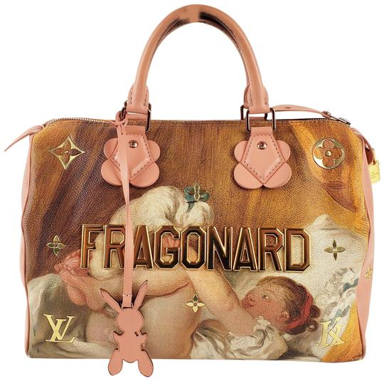 Preload https://img-static.tradesy.com/item/25914998/louis-vuitton-speedy-masters-jeff-koons-fragonard-30-pink-canvas-satchel-0-1-540-540.jpg