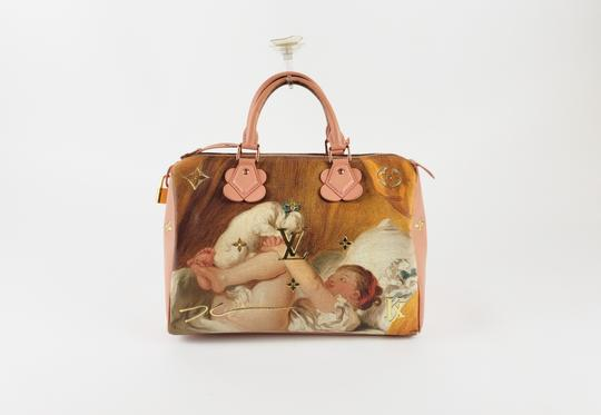 Louis Vuitton Fragonard Speedy Fashion Satchel in Pink Image 1