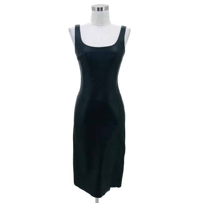 Preload https://img-static.tradesy.com/item/25915009/bcbgmaxazria-black-vintage-small-solid-leather-slit-mid-length-formal-dress-size-4-s-0-0-650-650.jpg