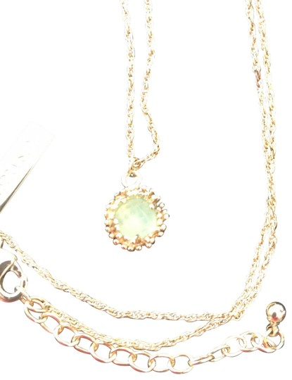Preload https://img-static.tradesy.com/item/25915034/kendra-scott-mint-with-gold-plated-chain-necklace-0-2-540-540.jpg