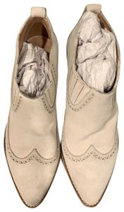 Madewell white/ivory Boots