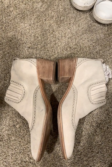Madewell white/ivory Boots Image 1