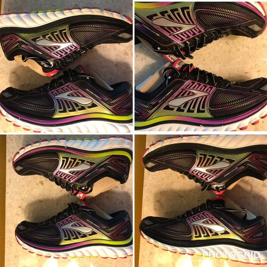 Brooks black and Nen multicolor Athletic Image 1