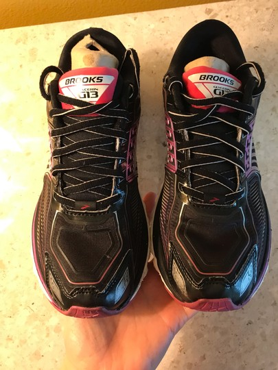 Brooks black and Nen multicolor Athletic Image 4