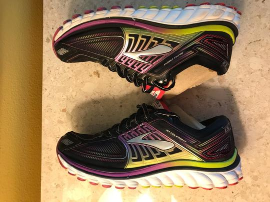 Brooks black and Nen multicolor Athletic Image 8