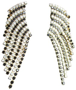 Other vintage fringed dangle rhinestone earrings