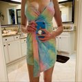 Fashion Nova short dress Multi (green, pink, yellow, blue, lavender) on Tradesy Image 2