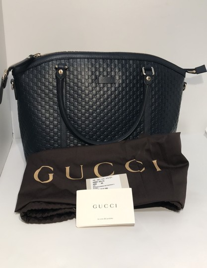Gucci Tote in navy Image 9