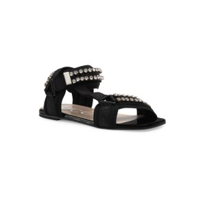 Gucci Gg Espadrille Double G Black Sandals