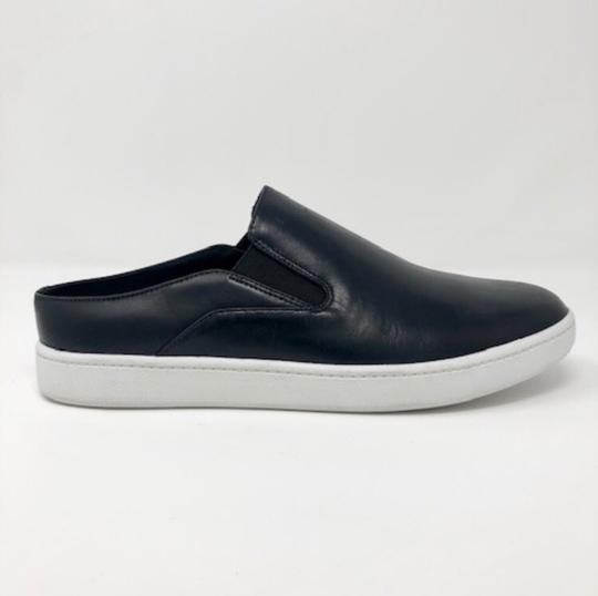 Vince Backless Sneakers Versatile Black Leather Athletic Image 3