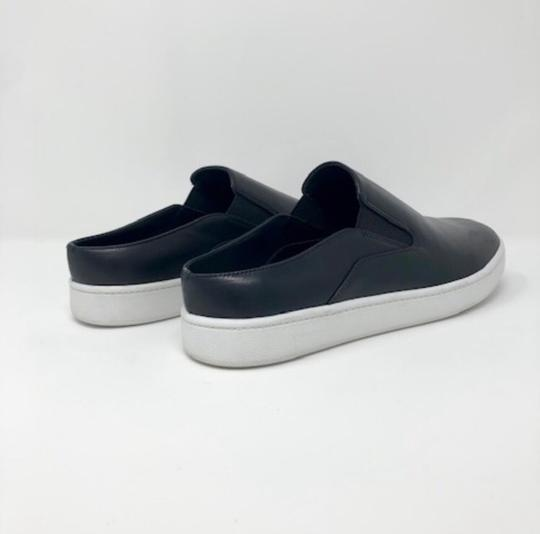 Vince Backless Sneakers Versatile Black Leather Athletic Image 5