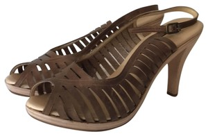 Michael Kors Hazelnut Brown Platforms