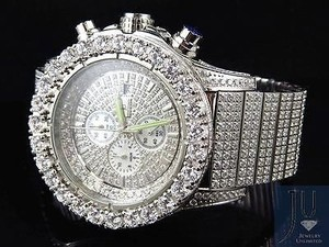 Jewelry Unlimited Jewelry Unlimited Jojino Joe Rodeo Mm White Simulated Diamond Watch