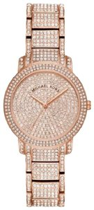 Michael Kors Stainless Steel Pave Crystal MK6548 Watch