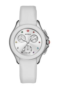 Michele Cape Silicone Stainless Steel MWW27C000001 Watch